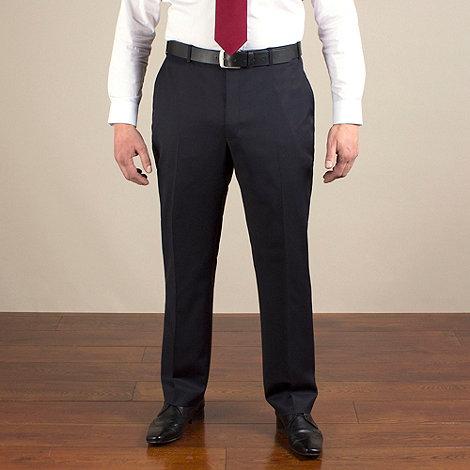 Centaur Big & Tall - Navy twill washable suit trouser
