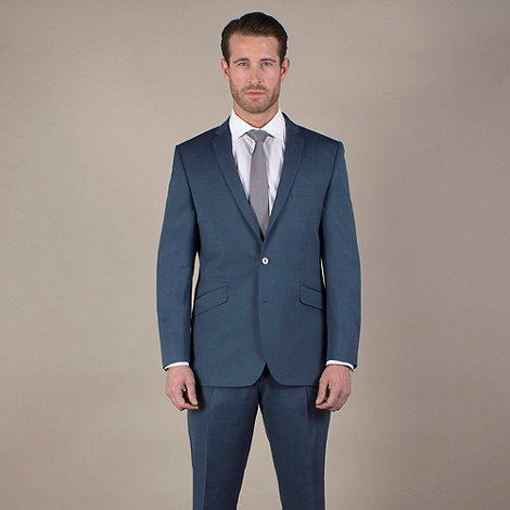 Ben Sherman - Bright blue tonic 2 button suit jacket