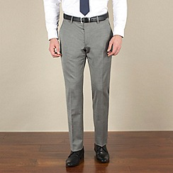 Stvdio by Jeff Banks - Silver tonic tailored fit soft tailoring suit trouser