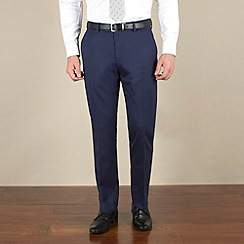 Stvdio by Jeff Banks - Blue tonic tailored fit soft tailoring suit trouser