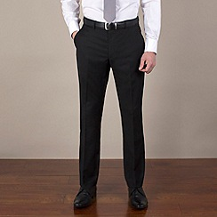 Stvdio by Jeff Banks - Black narrow stripe reg fit suit trouser