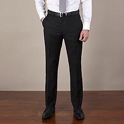 Stvdio by Jeff Banks - Black narrow stripe reg fit suit trouser