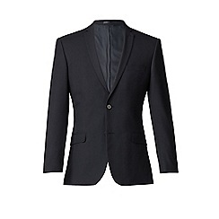 Thomas Nash - Navy plain weave slim fit 2 button suit jacket