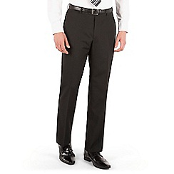 Thomas Nash - Black stripe regular fit suit trouser