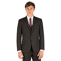 Thomas Nash - Black stripe slim fit 2 button suit