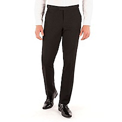 Occasions - Black dresswear slim fit suit trouser