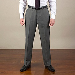 Karl Jackson - Grey semi-plain regular fit trouser