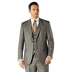 Karl Jackson - Grey pick and pick 2 button suit