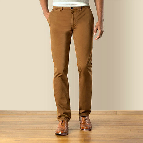 Racing Green - Washed Regular Fit Chino