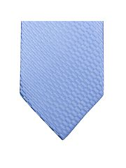 Light Blue Textured Plain Tie