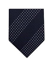 Navy Oxford Dots Tie