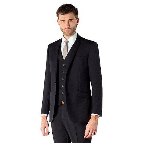 Ben Sherman - Navy twill 2 button kings slim fit suit jacket