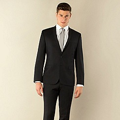 Ben Sherman - Navy plain weave 2 button skinny camden fit suit