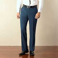 Ben Sherman - Blue tonic kings slim fit suit trouser