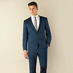 Ben Sherman - Blue tonic 1 button skinny camden fit suit jacket
