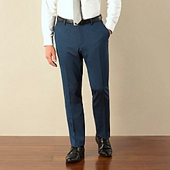 Ben Sherman - Blue tonic skinny camden fit suit trouser