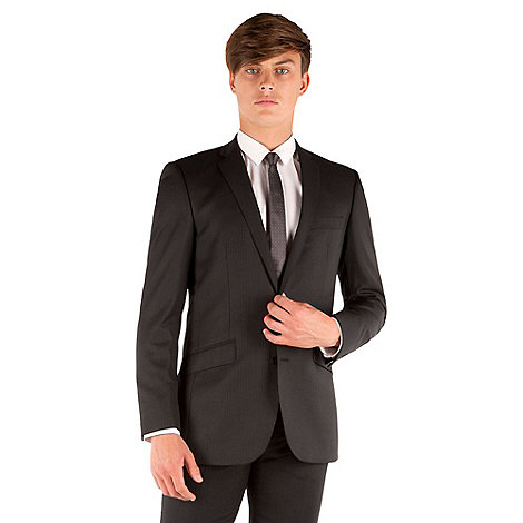 Ben Sherman - Black stripe 2 button kings slim fit suit jacket