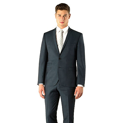 Ben Sherman - Teal tonic 2 button camden skinny fit suit jacket