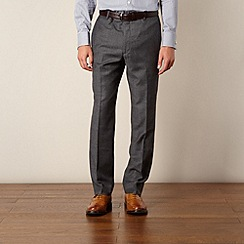 Hammond & Co. by Patrick Grant - Grey prince of wales check tailored fit trouser
