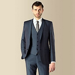 Red Herring - Teal tonic 2 button slim fit suit jacket