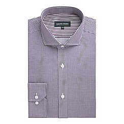 Racing Green - Barbican Grid Check Non Iron Shirt