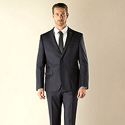 Stvdio by Jeff Banks - Blue check 2 button modern fit suit jacket