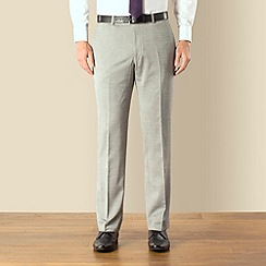 J by Jasper Conran - Silver tonic tailored fit trouser
