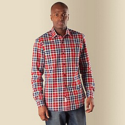 Racing Green - Nicholas checked shirt