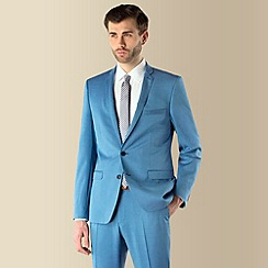 Ben Sherman - Bright blue 2 button Camden skinny fit suit