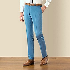 BEN SHERMAN - Bright blue Camden skinny fit suit trouser