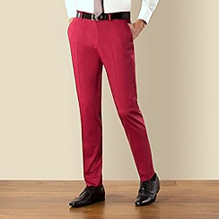 Ben Sherman - Red Camden skinny fit suit trouser