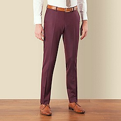 BEN SHERMAN - Mulberry tonic skinny camden fit suit trouser