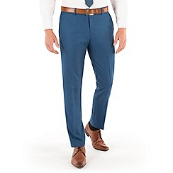 Red Herring - Bright blue semi plain slim fit trouser