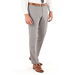 Red Herring - Light grey semi plain slim fit suit trouser