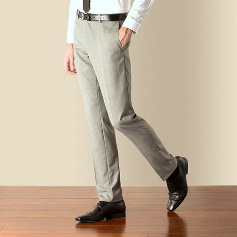 Red Herring - Grey check slim fit suit trouser