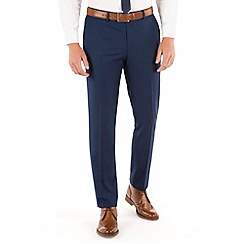 Red Herring - Blue plain slim fit suit trouser