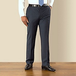 Centaur Big & Tall - Blue stripe washable big and tall suit trouser