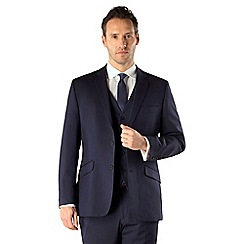 J by Jasper Conran - Navy tonic occasions 2 button tailored fit 3 piece suit