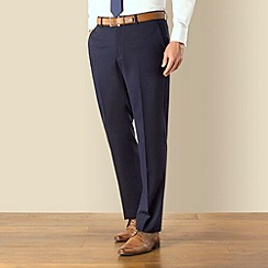 J by Jasper Conran - Navy tonic occasions plain front tailored fit suit trouser