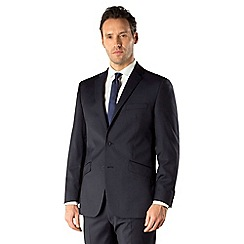 J by Jasper Conran - Navy stripe business 2 button tailored fit suit