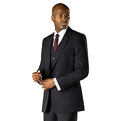 Hammond & Co. by Patrick Grant - Navy panama 2 button front tailored fit two piece suit