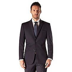 J by Jasper Conran - Navy stripe 2 button tailored fit business suit