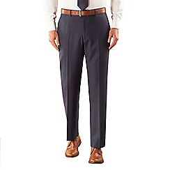 Karl Jackson - Blue pick and pick suit trouser