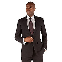Hammond & Co. by Patrick Grant - Navy texture 2 button front tailored fit suit