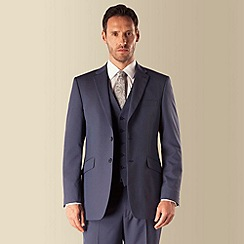 Occasions - Blue regular fit 2 button suit