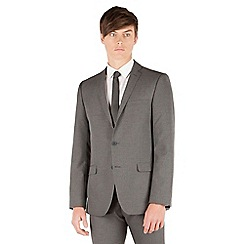 Thomas Nash - Grey narrow stripe 2 button slim fit suit jacket