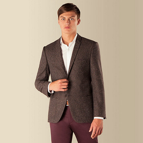 Red Herring - Brown speckle 2 button jacket