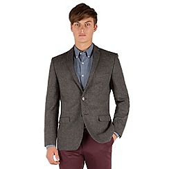 Red Herring - Grey donegal look 2 button jacket