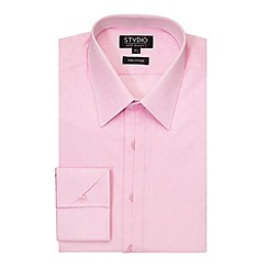 Stvdio by Jeff Banks - Pink Diamond Jacquard Shirt