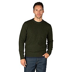 Racing Green - Whiston Crew Neck Knit